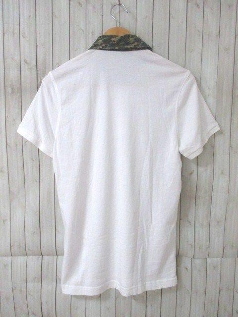 ☆MONCLER モンクレール 襟カモフラージュ柄 ポロシャツ/メンズ/M☆希少モデル < ブランドの