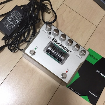 Blackstar HT-DUAL☆ディストーションエフェクター☆真空管