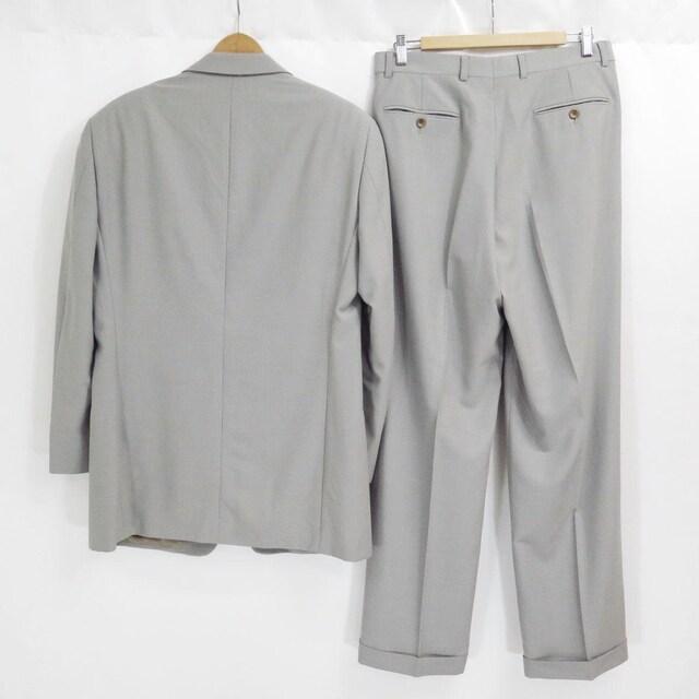ARMANI COLLEZIONI アルマーニコレツィオーニ ウール スーツ グレー 48 < ブランドの