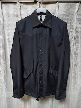 ロッキーマウンテン wind shirts コーチジャケット 36 Sサイズ 黒 マウンテンパーカ アウトドア