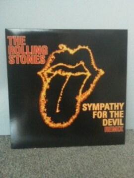 送料込 ローリングストーンズ レコード SYMPATHY FOR THE DEVIL(REMIX)新品