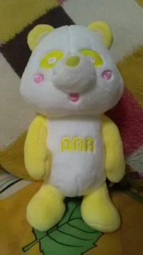 AAA・え〜パンダ・ぽーじんぐキメキメぬいぐるみ・黄色 日高