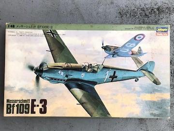 1/48 ハセガワ ドイツ空軍 メッサーシュミットBf109E-3