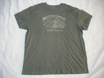 16 男 ラルフローレン 緑 半袖Tシャツ XXL