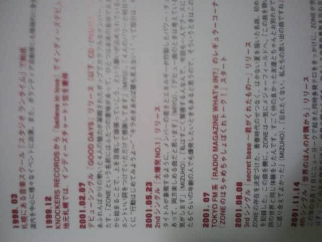 ZONE写真集「ZONEFINAL武道館ー卒業アルバムー」 < タレントグッズの