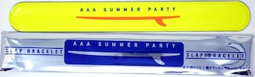 AAA SUMMER PARTY 2018 日高光啓 黄色 パッチンバンド 新品