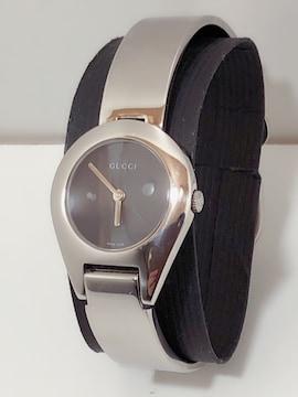 T243 GUCCI グッチ 6700L バングル レディース 時計