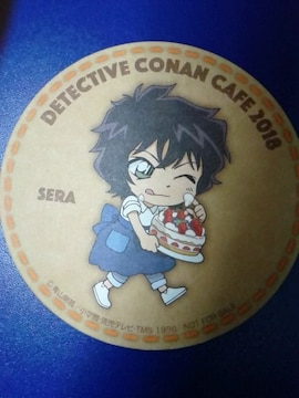 名探偵コナンカフェ2018限定非売品コースター世良真純ゼロの執行人