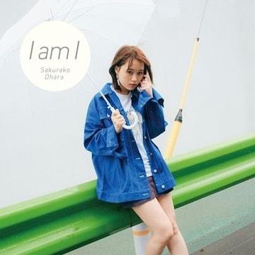 即決 大原櫻子 I am I 初回限定盤 (+DVD) 新品未開封