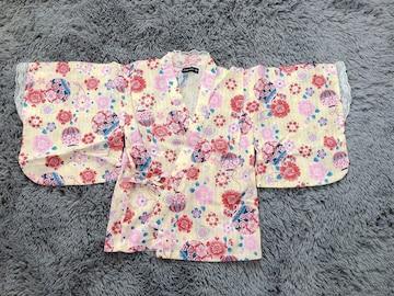 美品★浴衣ドレス120