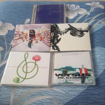 ミスターチルドレン/ CD アルバム5枚セット