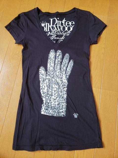 ☆新品同様☆ダーティーハリウッド☆半袖Tシャツ  < 女性ファッションの