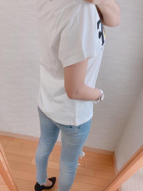 新作大人気完売!限定1!OP!モコモコロゴ!セレカジTシャツ! < 女性ファッションの