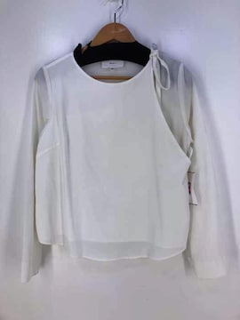 MHAIRI(マイリ)ショルダーテープブラウスシャツ・ブラウス