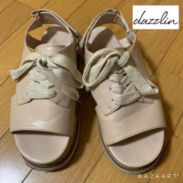 ☆dazzlin レースアップサンダル☆