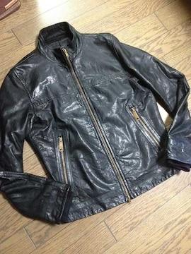 美品JOURNAL STANDARD ラムレザージャケット ジャーナル