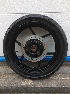 NINJA250R用 純正Rホイール&タイヤ