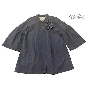 新品コスミカkosmikaイタリア製ライナー付スプリングコートS