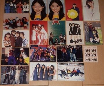 SPEED 島袋寛子 ブロマイド 写真&シール  18枚セット