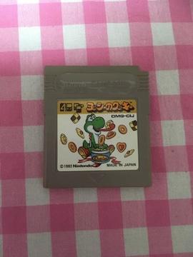 GBソフト・ゲームボーイソフト・ヨッシーのクッキー
