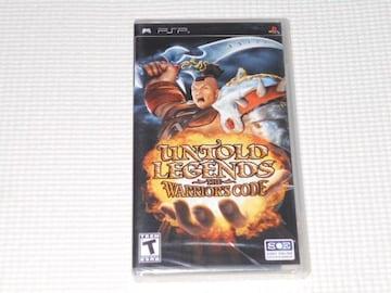 PSP★UNTOLD LEGENDS THE WARRIOR'S CODE 海外版