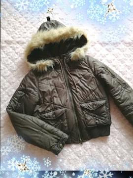 T.T.U.SNOWY CRYSTAL*フード付きダウンコート