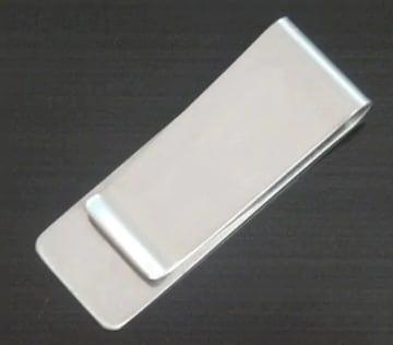 390円セール★マネークリップ シルバーメタルミラー タイプ
