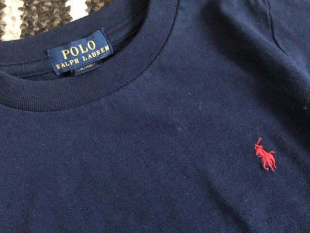 新品☆POLO RALPH LAUREN(ポロラルフローレン)刺繍入り長袖Tシャツ☆ < ブランドの