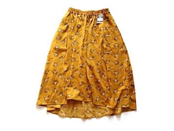 新品 ショコラフィネローブ chocol raffine robe 花柄 スカート
