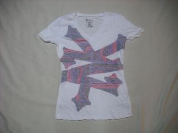 mq554 女 ZOO YORK ズーヨーク 白 Tシャツ Sサイズ