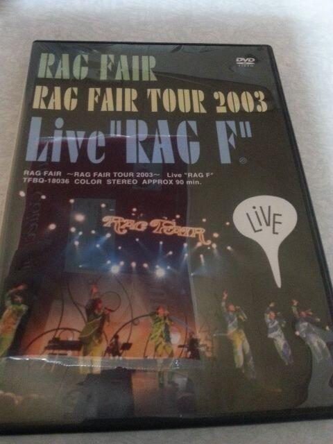 RAGFAIR TOUR  2003 LIVE RAG F  < タレントグッズの