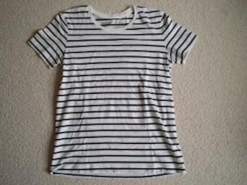 美品☆無印良品☆ボーダーTシャツ