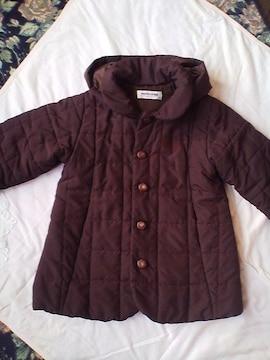 マリ・クレール茶色の中綿コート90