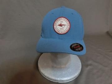 コロンビア【PFG】フライフィッシング豪華刺繍CAP 青