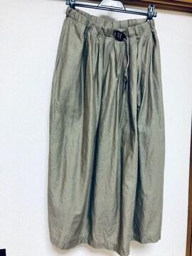 グラミチ 麻綿スカート アローズ購入 美品