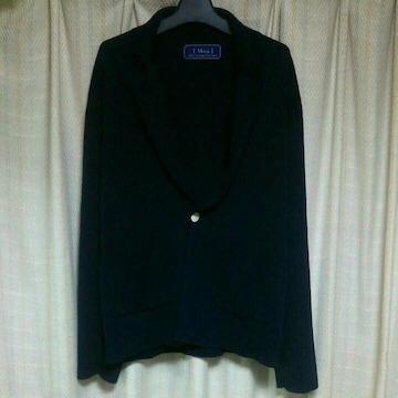 Milokミロック 1BテーラードジャケットSサイズ濃紺色ダークネイビーメンズ中古日本製服
