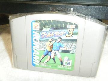 実況ワールドサッカー3(N64用)