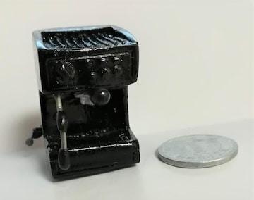 ミニチュア★エスプレッソマシーン★コーヒーマシーン★黒★