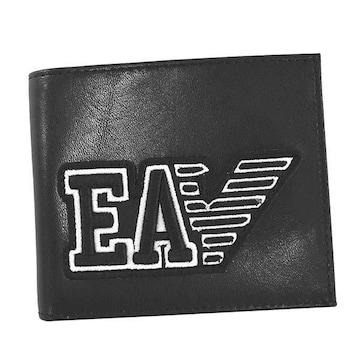 ★エンポリオアルマーニ 2つ折財布(BK)『Y4R167 YTC2E』★新品本物★