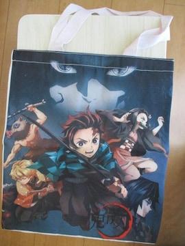 「鬼滅の刃」6キャラクター画像のトートバック、手提げ袋