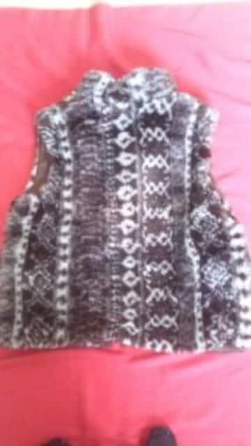 暖かいダウンベストMサイズフリージャケット < 女性ファッションの