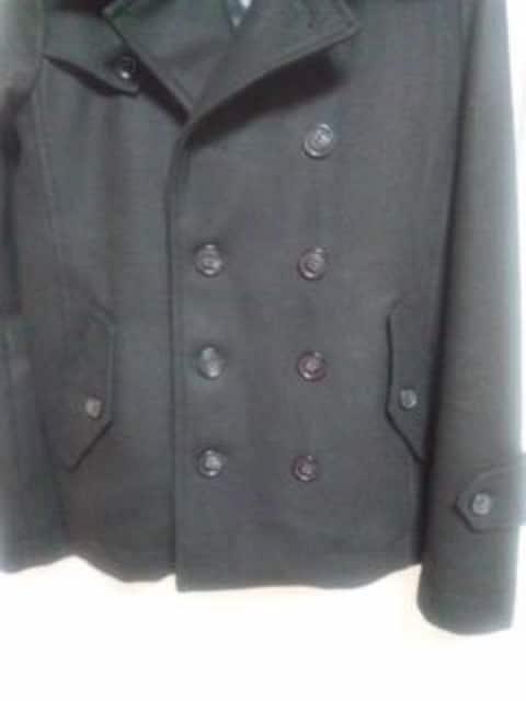ショートトレンチコート ピーコート メルトン  新品 中綿 S < 男性ファッションの