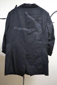 roarロアー×ダイエットブッチャー 2丁拳銃7分袖テーラードジャケット