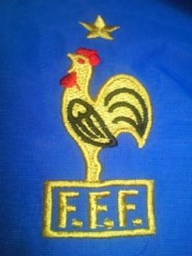 サッカー フランス 代表 adidas アディダス デザイン ジャンパー ジャケット ブルー L
