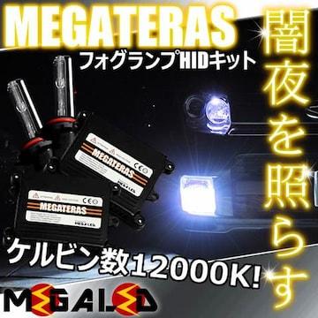 mLED】マークX120前期/フォグランプHIDキット/HB4/12000K