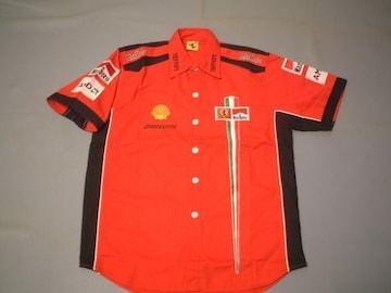★激安★F1★FerrariTeam★ピットシャツ★XL★赤★新品★SALE★