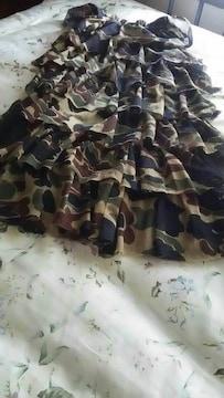 激かわ フリルスカート