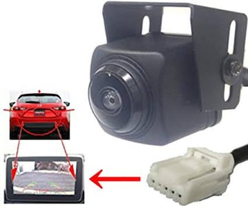 アクセラ 対応 バックカメラ SONYCCD広角230度 BM/BY系 マツ