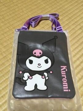 ☆非売品☆クロミ☆サコッシュ&マスコット☆サンリオくじ☆