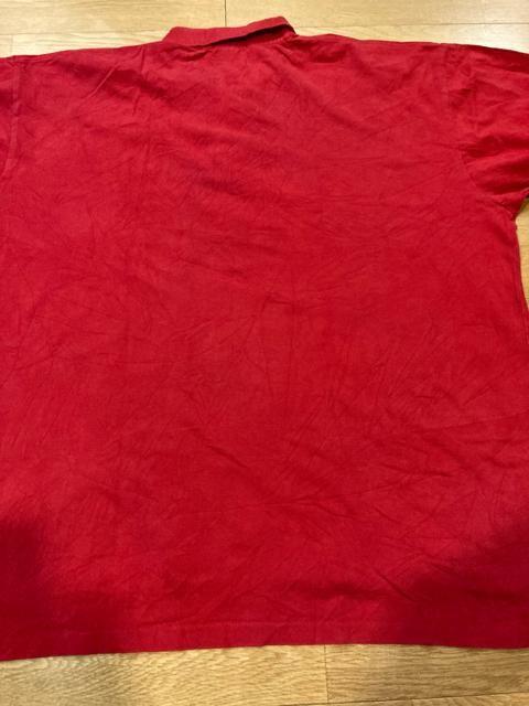 POLO RalphLauren  超超超大きいsize 6XL used ビッグポニー 赤 < ブランドの